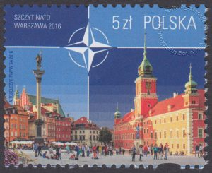 Szczyt NATO Warszawa 2016 - znaczek nr 4696