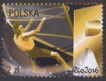 Polska Reprezentacja Olimpijska Rio 2016 - znaczek nr 4698