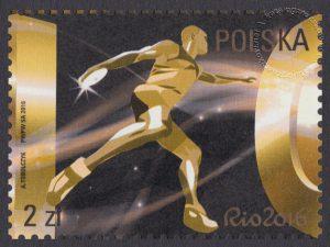 Polska Reprezentacja Olimpijska Rio 2016 - znaczek nr 4700