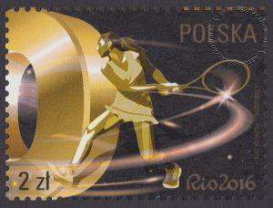 Polska Reprezentacja Olimpijska Rio 2016 - znaczek nr 4701