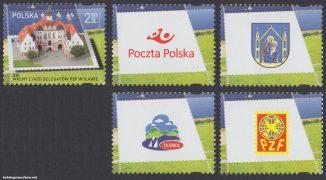 XXI Walny Zjazd Delegatów PZF w Iławie - znaczek nr 4716
