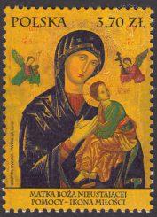 Matka Boża Nieustającej Pomocy – Ikona Miłości - znaczek nr 4720