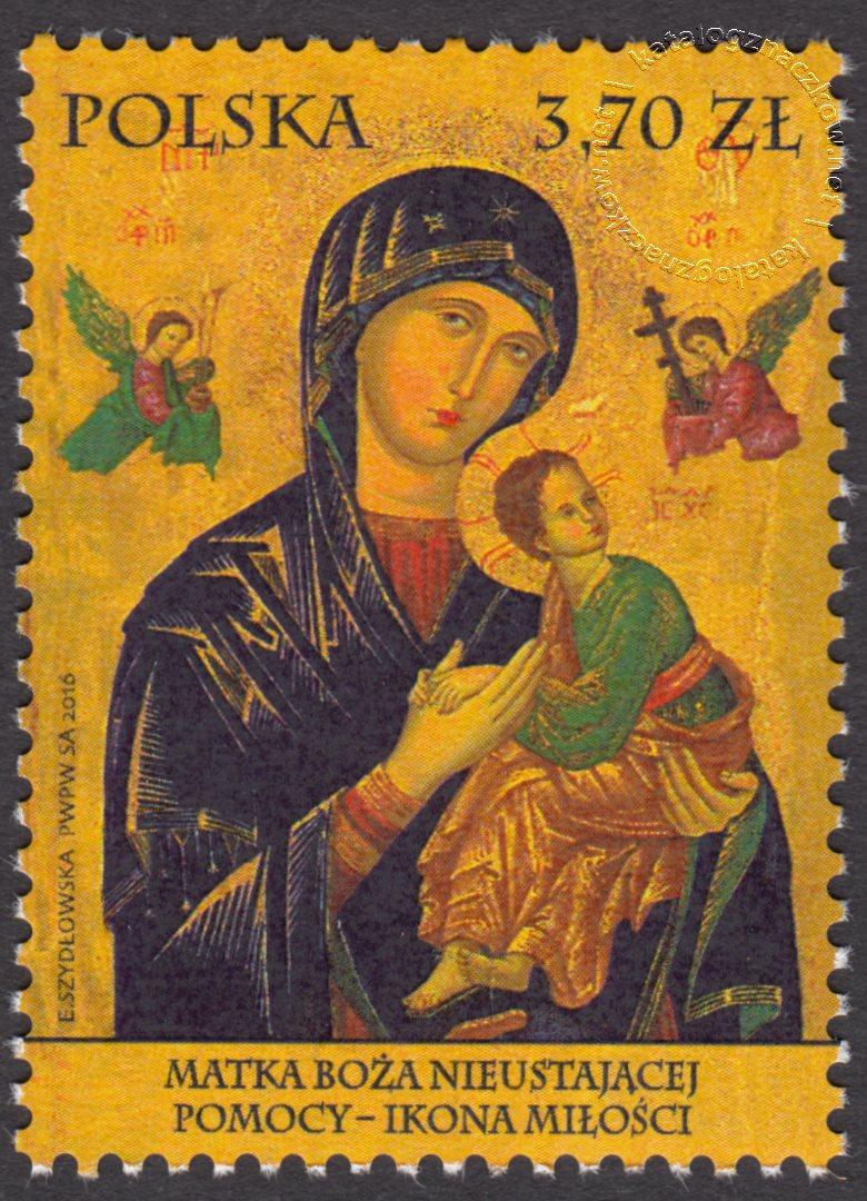 Matka Boża Nieustającej Pomocy – Ikona Miłości – znaczek nr 4720