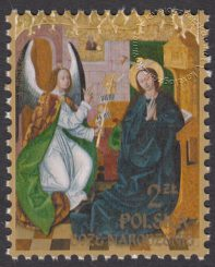 Boże Narodzenie - znaczek nr 4734