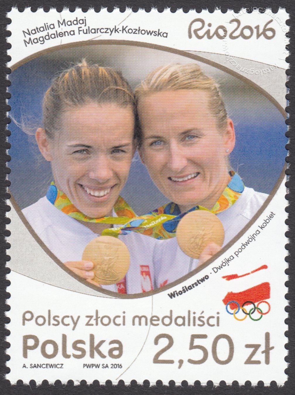 Polscy złoci medaliści – znaczek nr 4738