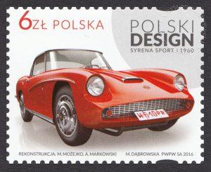 Polski design - znaczek nr 4741