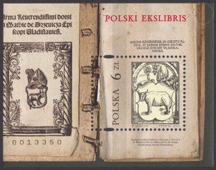 Polski ekslibris - Blok 208