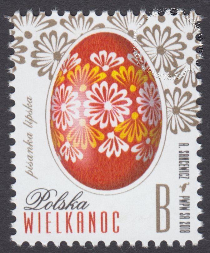Wielkanoc znaczek nr 4828