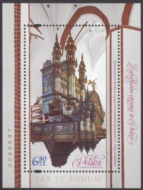 Zabytkowe organy w Polsce - Blok 210