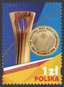Złoci Medaliści FIVB Mistrzostw Świata w Piłce Siatkowej Mężczyzn Włochy - Bułgaria 2018 - 4928