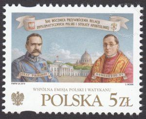 100 rocznica przywrócenia relacji dyplomatycznych Polski i Stolicy Apostolskiej - 2019 - 4950