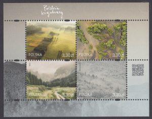 Polskie krajobrazy - Blok 214