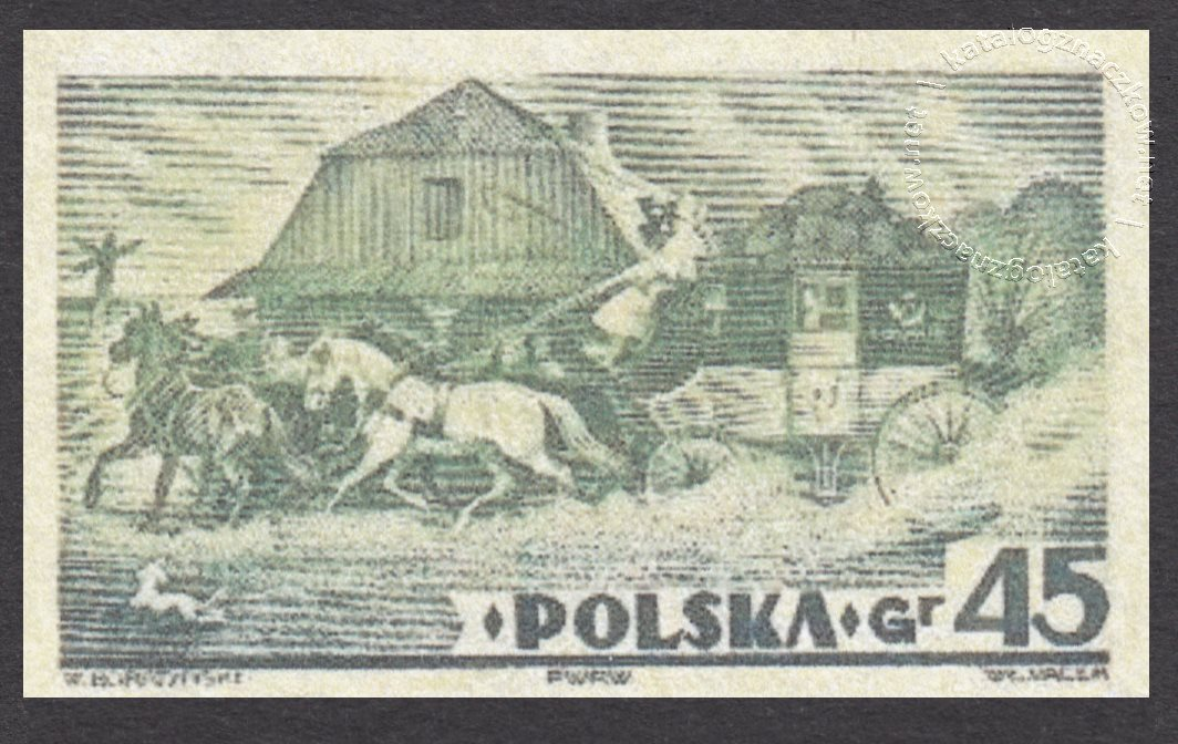 V Ogólnopolska Wystawa Filatelistyczna w Warszawie znaczek nr 306A