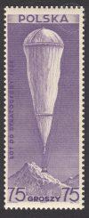 Pierwszy polski lot do stratosfery - 308