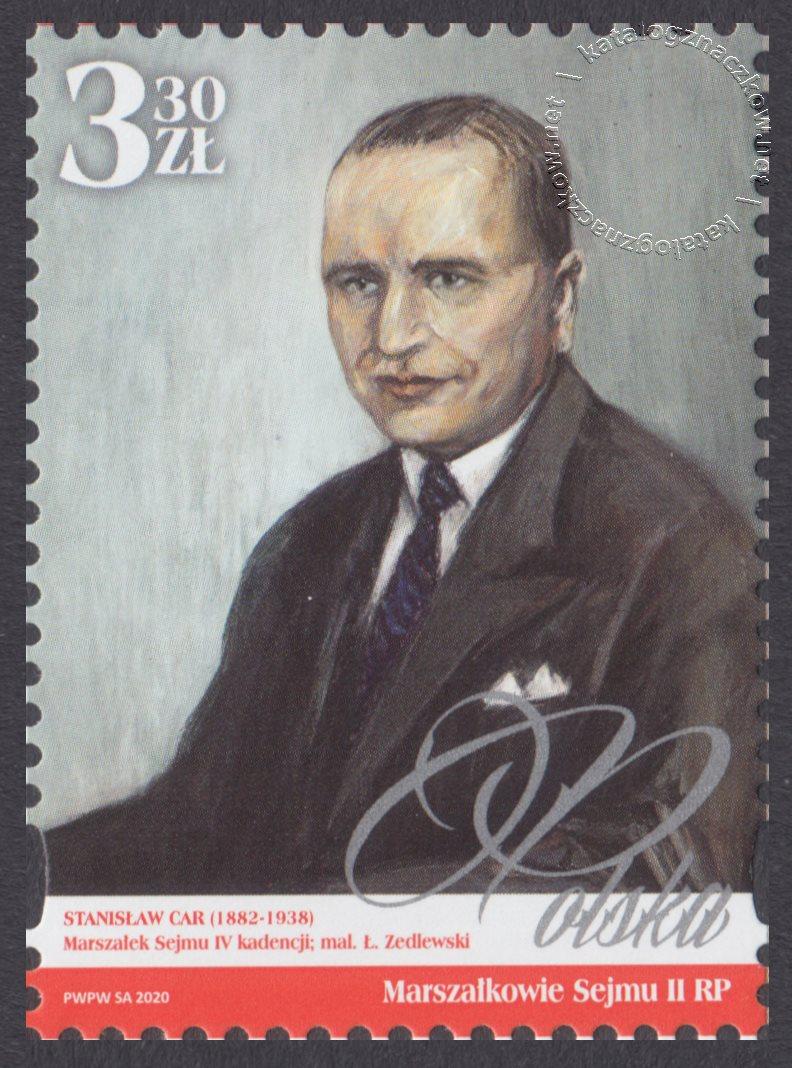 Marszałkowie Sejmu II RP znaczek nr 5104
