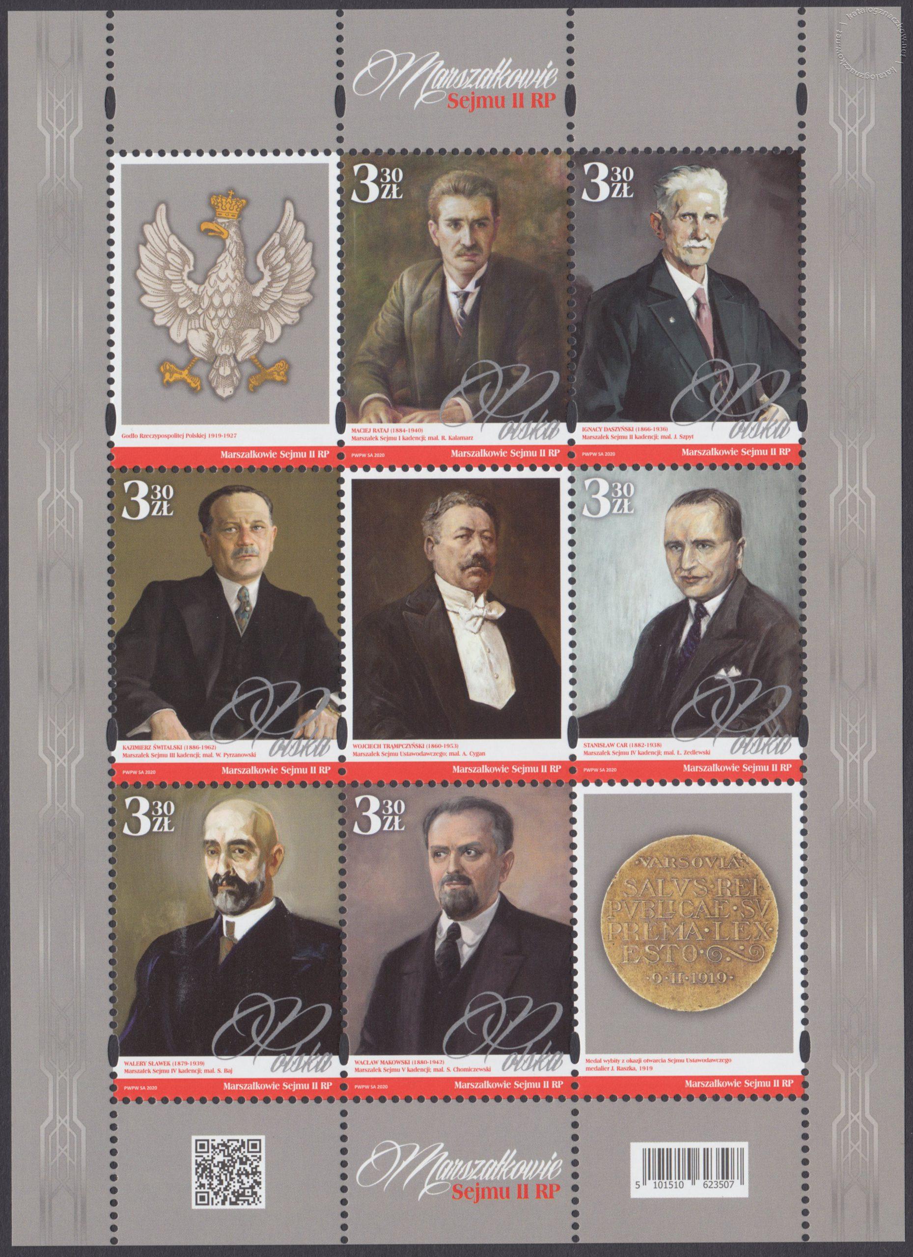 Marszałkowie Sejmu II RP – Blok 235