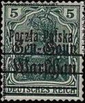 Wydanie przedrukowane na znaczkach GG Warschau - 7