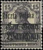 Wydanie przedrukowane na znaczkach GG Warschau - 11