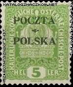 Wydanie prowizoryczne tzw. krakowskie znaczek nr 31