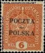 Wydanie prowizoryczne tzw. krakowskie znaczek nr 32