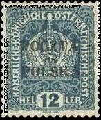 Wydanie prowizoryczne tzw. krakowskie znaczek nr 34
