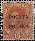 Wydanie prowizoryczne tzw. krakowskie znaczek nr 35