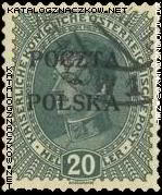 Wydanie prowizoryczne tzw. krakowskie znaczek nr 36