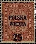 Wydanie prowizoryczne tzw. krakowskie znaczek nr 38