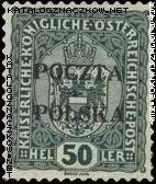 Wydanie prowizoryczne tzw. krakowskie znaczek nr 41