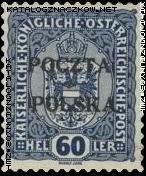 Wydanie prowizoryczne tzw. krakowskie znaczek nr 42