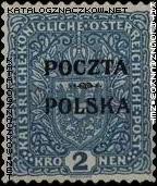 Wydanie prowizoryczne tzw. krakowskie znaczek nr 46