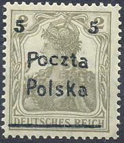 Wydanie przedrukowane Dyrekcji Poczty i Telekomunikacji w Poznaniu znaczek nr 66