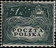 Wydanie w walucie koronowej znaczek nr 80