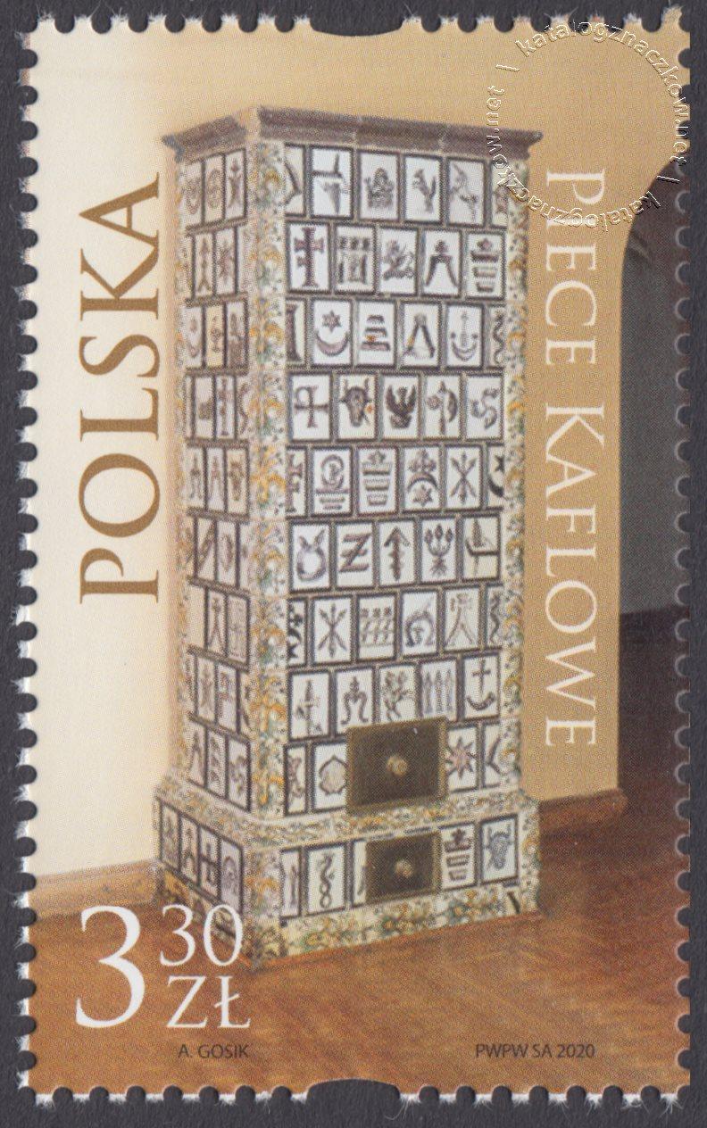 Piece kaflowe znaczek nr 5121