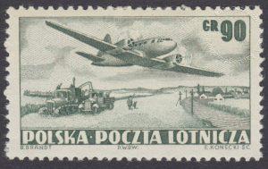Wydanie na przesyłki lotnicze - 591B