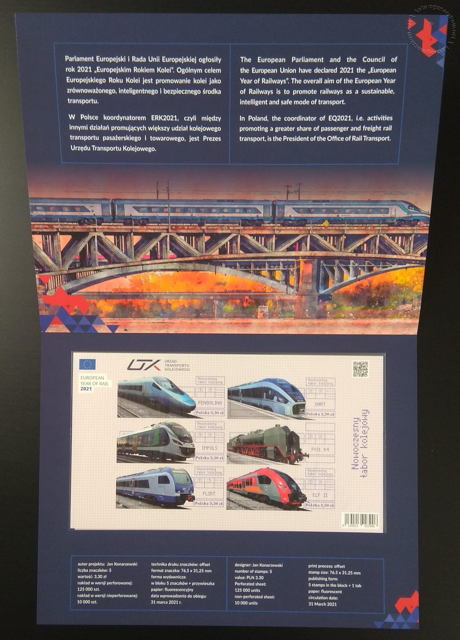 Nowoczesny tabor kolejowy – Blok 238A folder