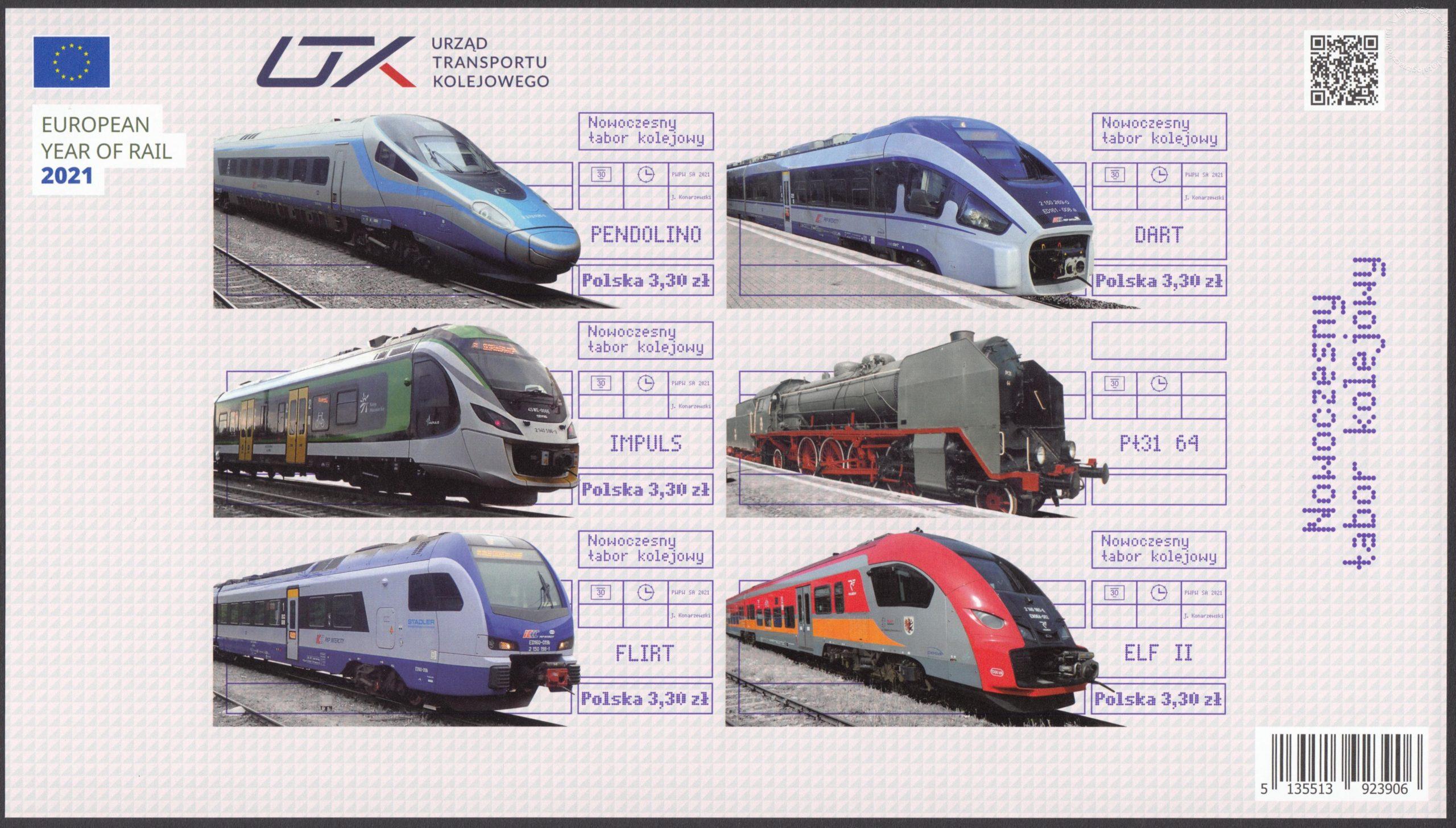Nowoczesny tabor kolejowy – Blok 238A