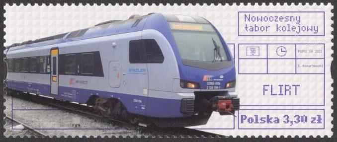Nowoczesny tabor kolejowy - 5138B