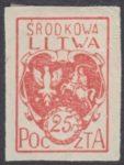 Godło Litwy Środkowej - 1A
