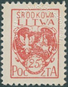 Godło Litwy Środkowej - 1B