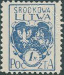 Godło Litwy Środkowej - 2B