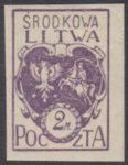 Godło Litwy Środkowej - 3A