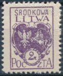 Godło Litwy Środkowej - 3B